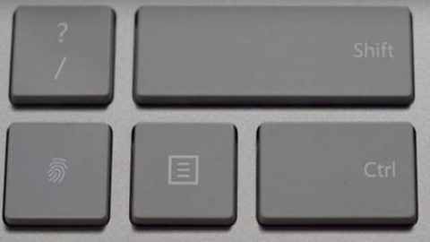 تجهیز کیبورد جدید مایکروسافت به حسگر اثر انگشت!