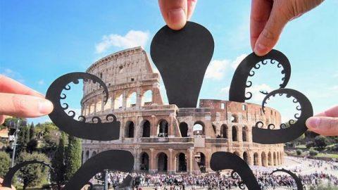 شوخی با بناهای تاریخی