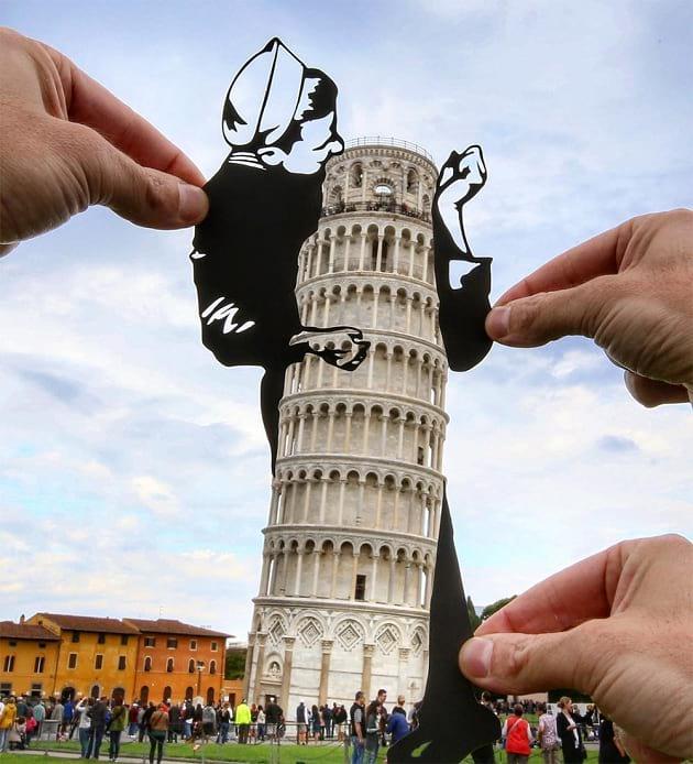 شوخی با بناهای تاریخی (3)