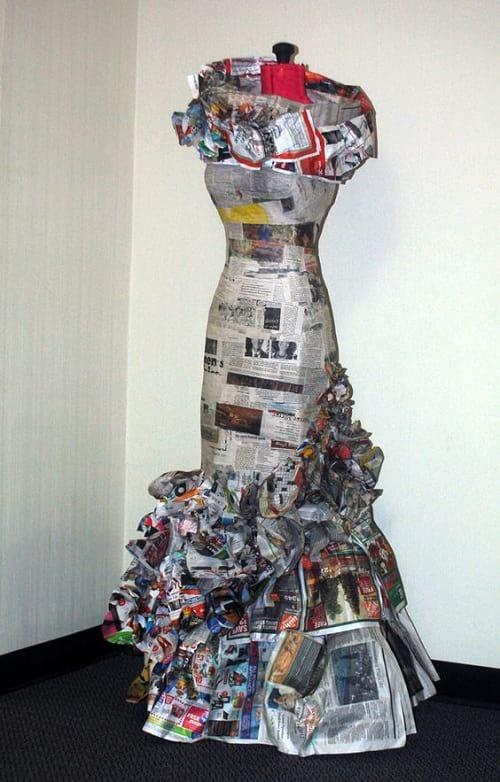 لباس هایی کاغذی!
