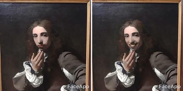 لبخند تابلو کلاسیک (7)