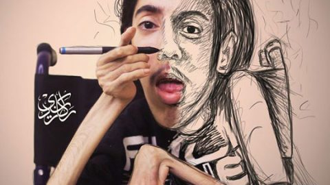نقاشی که نشان داد معلولیت محدودیت نمیآورد