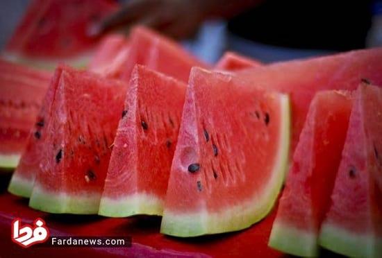 ۷ روش ساده و کاربردی برای خرید یک هندوانه شیرین و آبدار!
