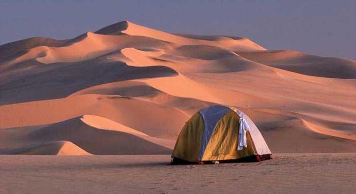 چادر زدن در ناکجاآباد (1)