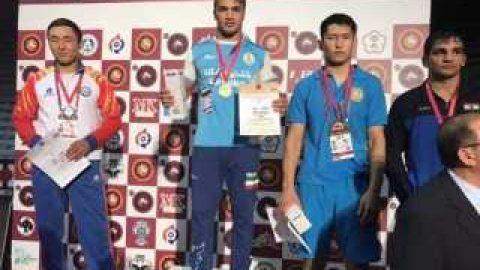 قهرمانی مقتدرانه کشتی فرنگی جوانان در آسیا با ۵ طلا و ۲ نقره