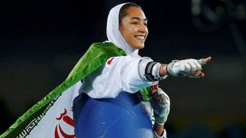انتخاب کیمیا علیزاده به عنوان پرچم دار مسابقات جهانی تکواندو