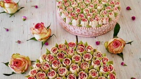 شیرینی فروش آلمانی که کیک هایی گیاهی و بسیار زیبا خلق می کند!