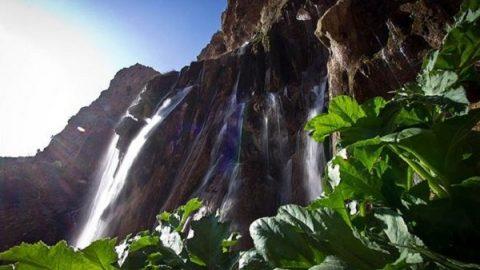 آبشار مارگون، بلندترین آبشار چشمه ای جهان