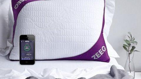 بالش هوشمند برای جلوگیری از خرناس کشیدن و داشتن خوابی راحت!