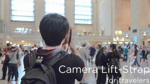 بند دوربین لیفت استرپ؛ انقلابی در عکاسی در سفر