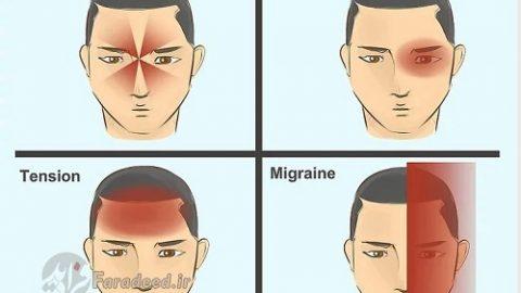 """راه های درمان سریع """"سردرد"""""""