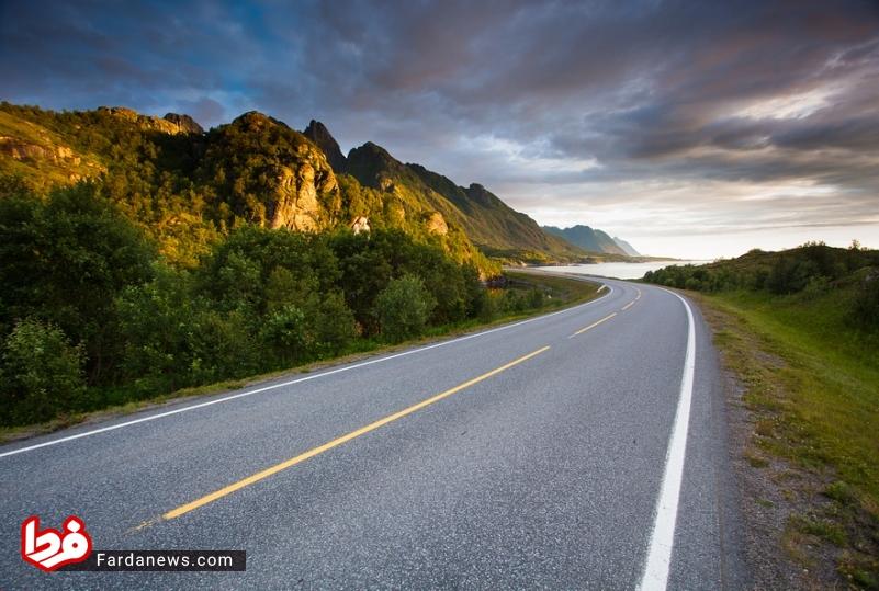 زیباترین جاده های جهان (6)