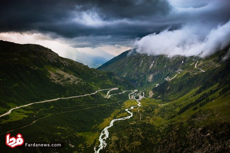 زیباترین جاده های جهان (8)
