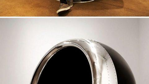 استفاده از قطعات هواپیما در دکوراسیون داخلی!