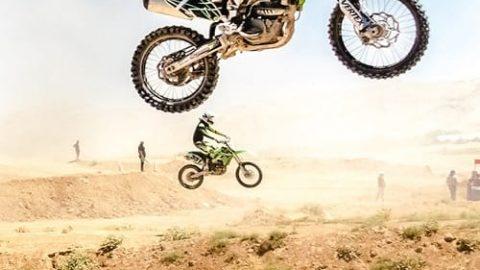 مسابقات موتور کراس در شیراز