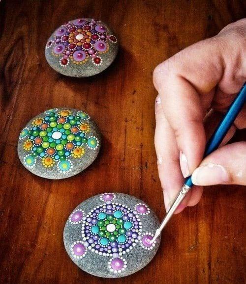 نقاشی روی سنگ (6)
