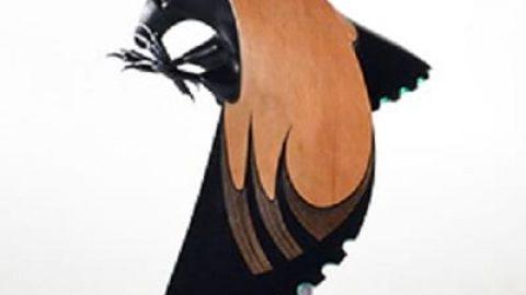 پرنده های چوبی!