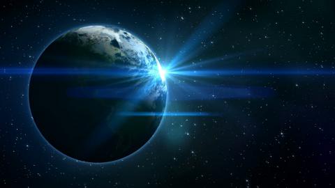 چرا زمین چشمک می زند؟