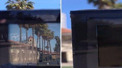 شیشهای که در کمتر از ۱ دقیقه تغییر رنگ میدهد