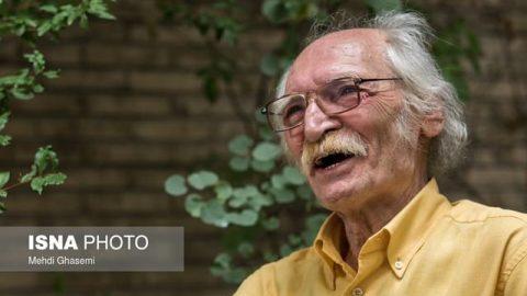 با محمود دولتآبادی در ۷۷ سالگی (۱)