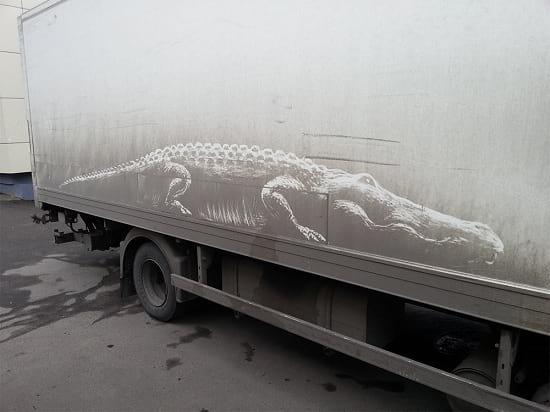 نقاشی روی ماشین (1)