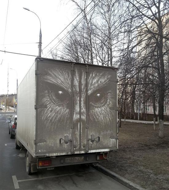 نقاشی روی ماشین (5)