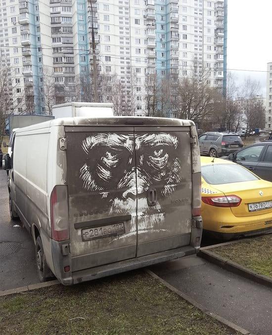 نقاشی روی ماشین (6)