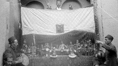نمایش عروسکی در عصر قاجار!
