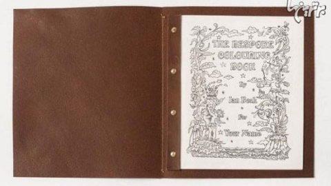 لوکسترین و گرانترین کتاب رنگ آمیزی دنیا