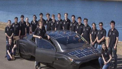 خودرو خورشیدی با مصرفی برابر با دستگاه توستر