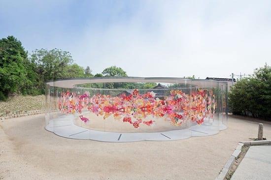 دیواری پز از گل (1)