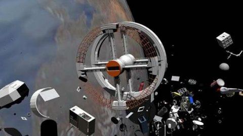 جمع آوری زباله های فضایی؛ چالش جدید دانشمندان!