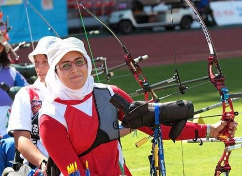 زهرا نعمتی به مدال طلای قهرمانی جهان دست یافت