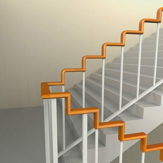 طراحی ساده نرده که مشکلات بزرگی را حل می کند!