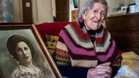 پیرترین انسان زنده دنیا!