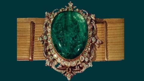کمربند زرین؛ جواهر ۲۰۰ ساله خزانه ملی جواهرات