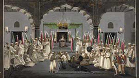 یکی از قدیمی ترین تصاویر عزاداری امام حسین (ع)