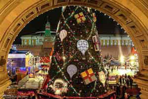 زیباترین درخت کریسمس
