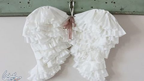 کاردستی بال های فرشته