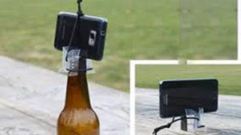 برای عکاسی با موبایل، سه پایه بسازید