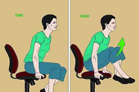 حرکات ورزشی برای رفع خستگی هنگام استفاده از کامپیوتر(۱)