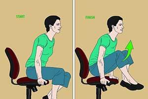 رفع خستگی هنگام استفاده از کامپیوتر