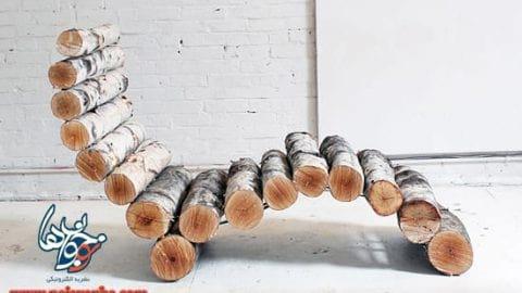کاردستی صندلی | کاردستی با چوب