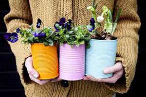 خلاقیت در اردو؛ گلدان