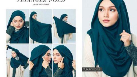 حجاب و زیبایی (۱) | مدل بستن شال با حجاب