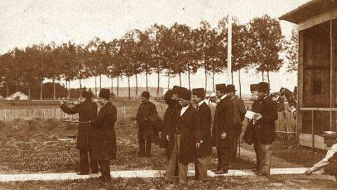 مظفرالدین شاه و شکار در فرانسه
