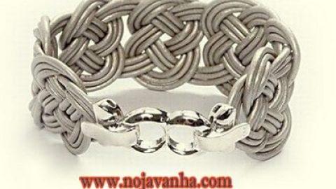 کاردستی دستبند بافت | آموزش بافت دستبند