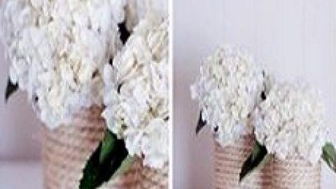 کاردستی گلدان | خلاقیت با ابزار دور ریختنی
