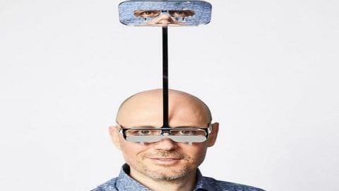 عینک جالب برای آدمهای قد کوتاه
