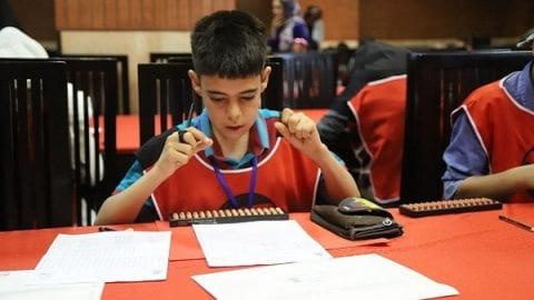 اختتامیه اولین دوره مسابقات ملی محاسبات ذهنی